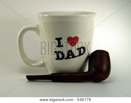 I Love Dad Cup