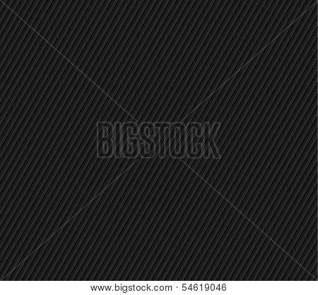 Black Seamless Striped Texture