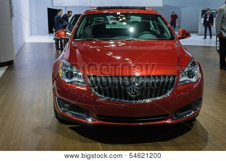 Buick Regal T Car On Display At The La Auto Show.