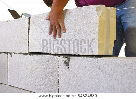 internal masonry blocks aerated concrete