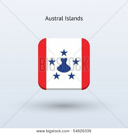 Austral Islands flag icon