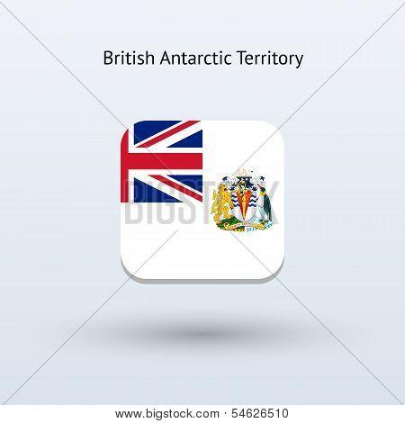 British Antarctic Territory flag icon