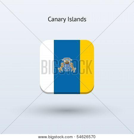 Canary Islands flag icon