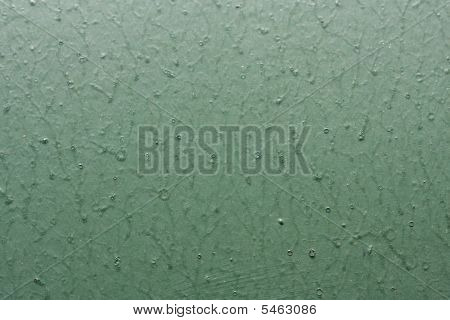 Green Painted Concrete