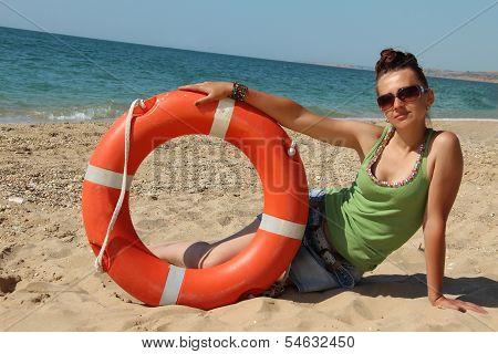 Girl Lifeguard