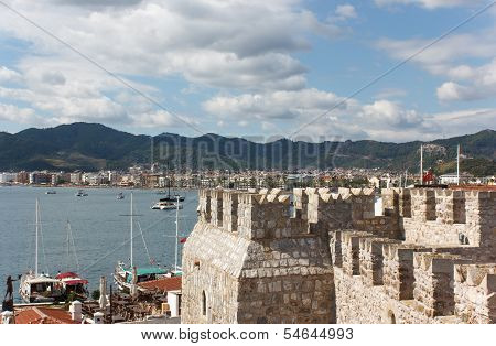 Fortress And Marmaris Marina