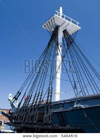 Mast Of Uss Constitution