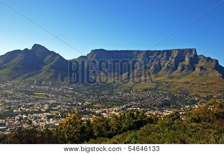 Capetown And Table Mountain(South Africa)