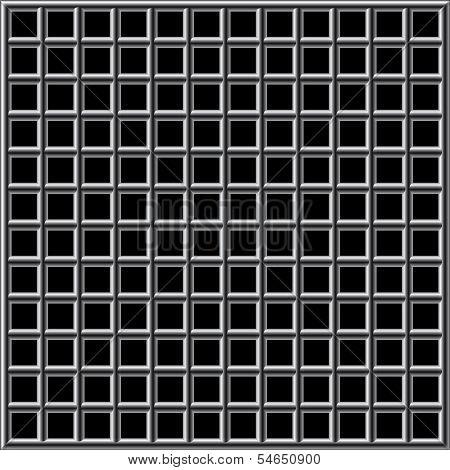 Prison Bars Black