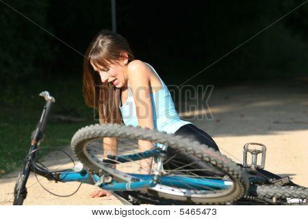 Biker Fall