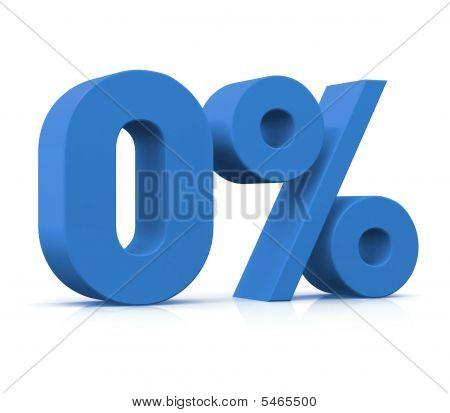 Percentage, 0%