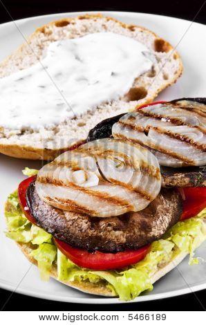 Portobello Sandwich