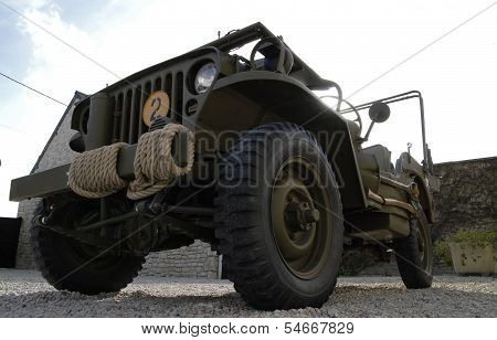 World War Two Military Vehicle