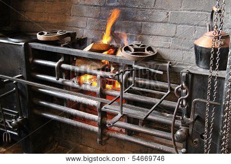 Vintage Cooking Range.
