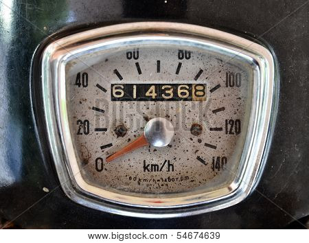 Ole Motorcycle Speed Meter