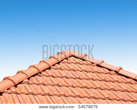 red peaked roof