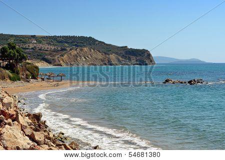 Methoni Coastline