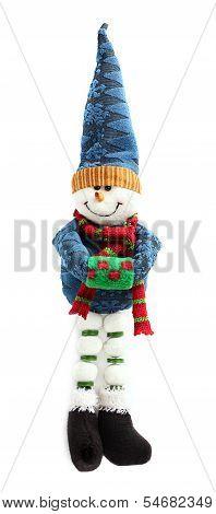 Soft Toy Snowman.