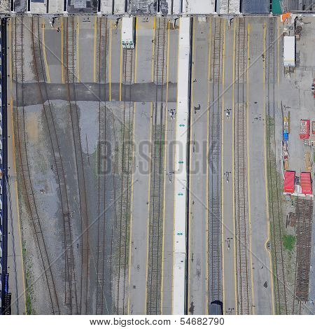 Toronto Union railway station.