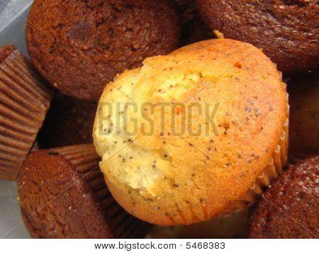 Lemon Poppyseed Muffin And Bran Muffins