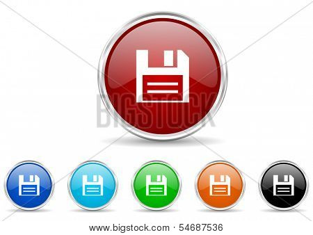 disk icon set