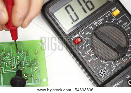 multimeter and display