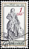 Jacques Callot Stamp