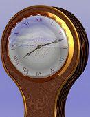 Ballon Clock poster