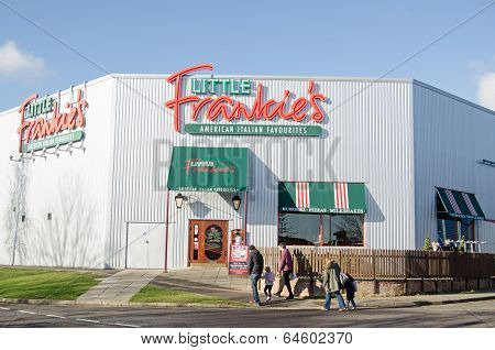 Family and Little Frankie's Restaurant