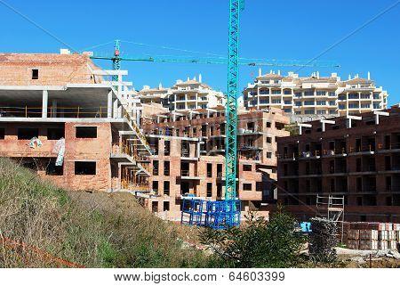 Construction site, Riviera del Sol.