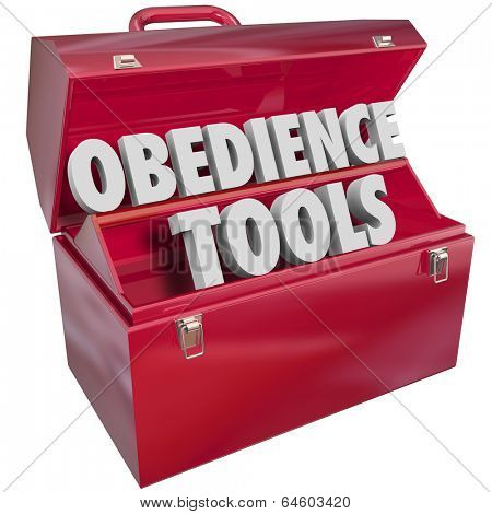 Obedience Tools Toolbox Follow Orders Authority