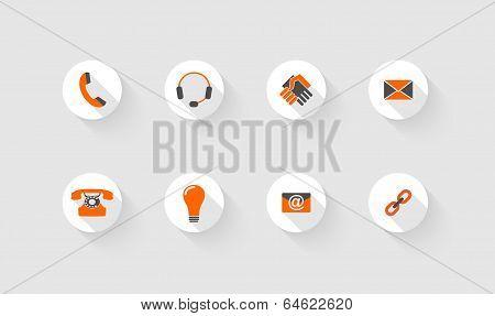 Gray And Orange Computer Icons