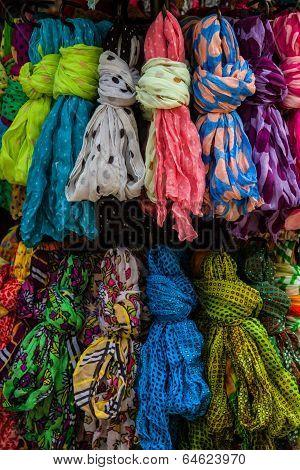 A Set Of Colorful Textile Palette