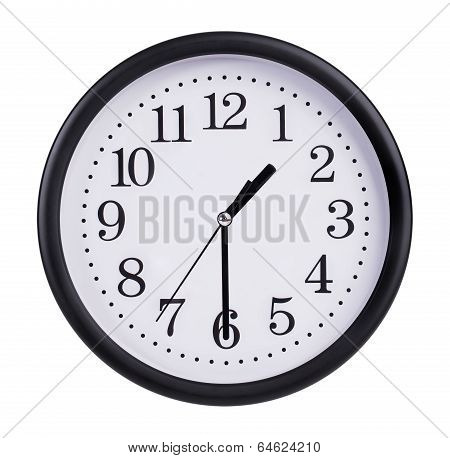 Clock Is Twenty Minutes Of The Second