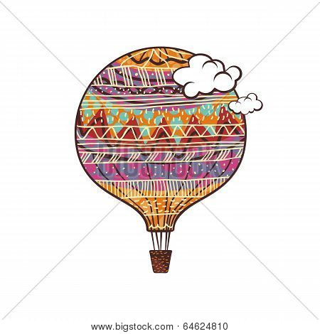 Decorated Balloon