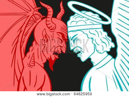 Devil VS Archangel.