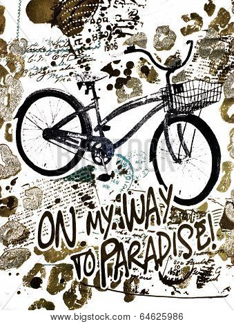 On My Way To Paradise By Bicycle
