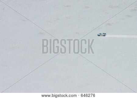 Car On Glacier