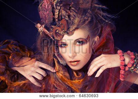 Creative lady