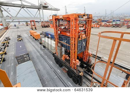 Rotterdam Container Terminal