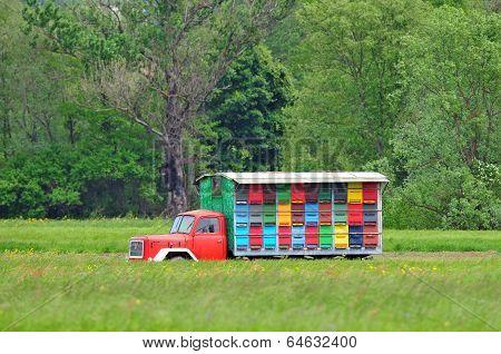 Mobile apiary