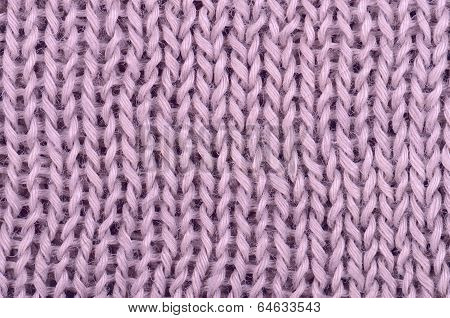 Close Up Pink Knitted Pullover Background