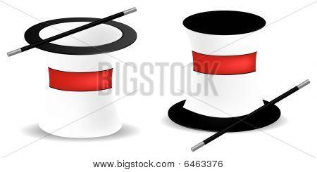 Chapéus de mágico
