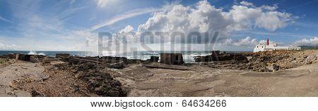 Cape Raso Lighthouse South Panorama
