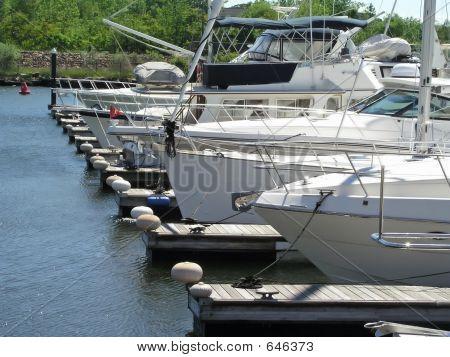Boats In Dock
