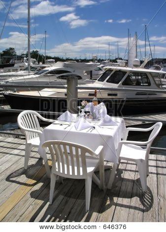 Dining At The Marina
