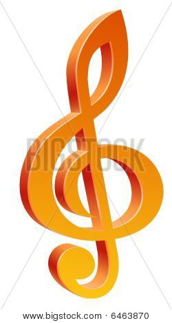 símbolo de la música