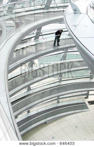 Reichstag Berlin Stairs
