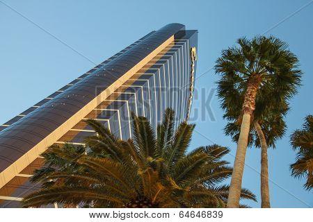 Encore Hotel And Casino At Dawn In Las Vegas, Nevada.