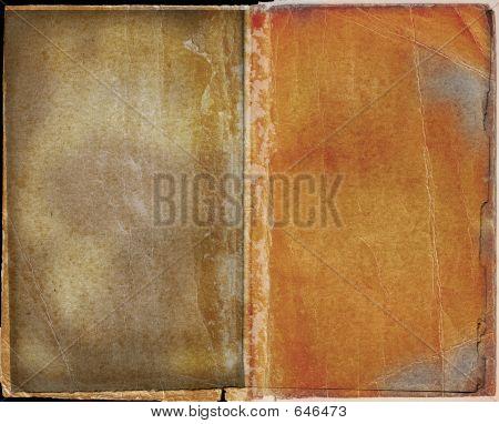 Grunge Book Spread